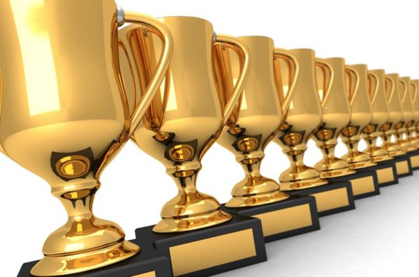 Stock: Award trophies